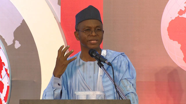 """I had fought with two presidents, Umaru Yar'Adua ended in his grave, while President Goodluck Jonathan ended in Otueke."" >>> El-Rufai said"