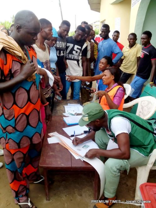 Voting ongoing at Ugbonla, Ilaje