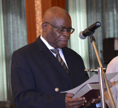 Acting chief justice of Nigeria Walter Onnoghen