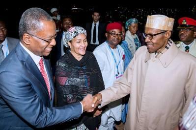 president-muhammadu-buhari-arrives-marrakech-4