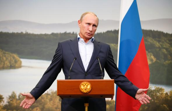 Vladimir Putin, Russian President Photo Credit: Slate