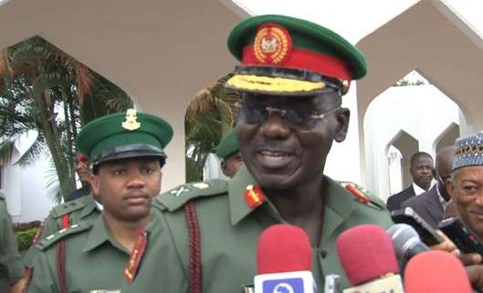 Buratai presents 3-bedroom house to 85-year-old ex-soldier evicted by El-Rufai