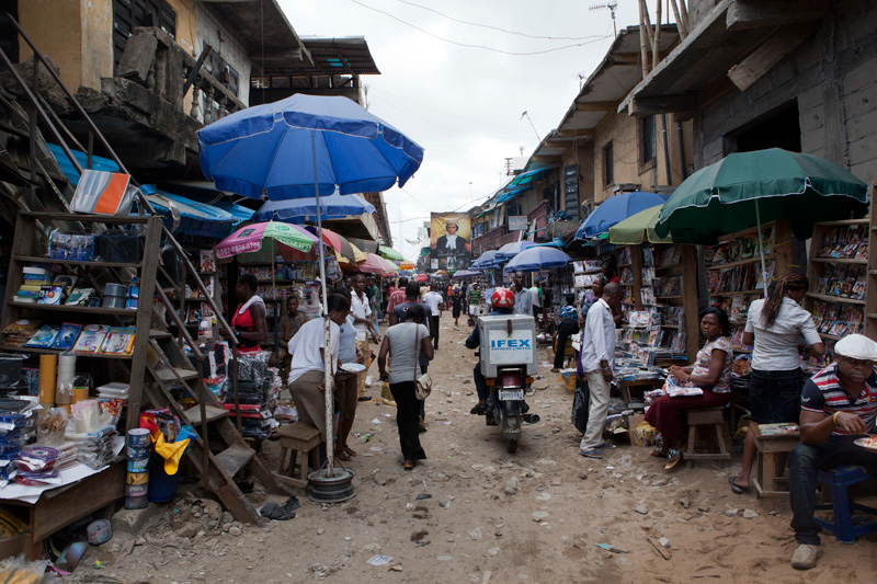 Alaba Market [Photo Credit: Geoffrey Ellis Photos]