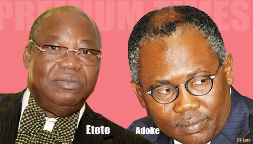 Dan Etete and former attorney general, Mohammed Adoke.