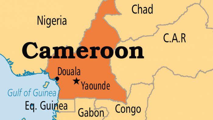 Map of Cameroon