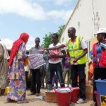IDP Camp used to illustrate the story