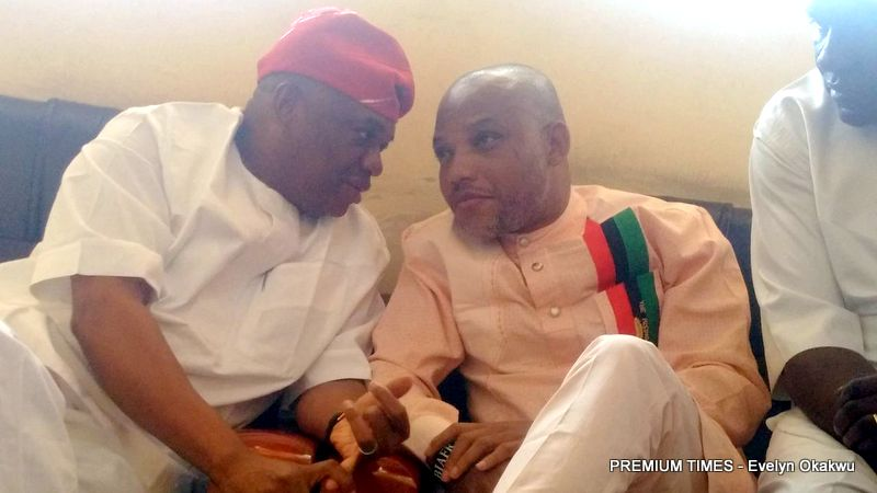 Biafra: Orji Kalu meets Nnamdi Kanu, to hold talks with Nigerian govt