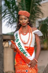 Miss Angela representing Rivers