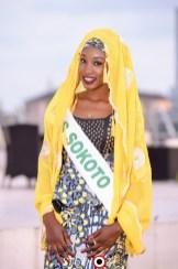 Miss Sarah representing Sokoto