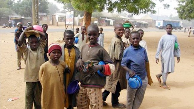 Almajiri Children. Photo: Premium Times Nigeria
