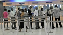 A banking hall [Photo credit: Nigerian Times]