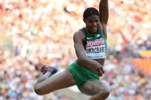Blessing Okagbare Photo: IAAF