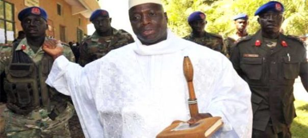 Yahya Jammeh Photo credit: News Africa