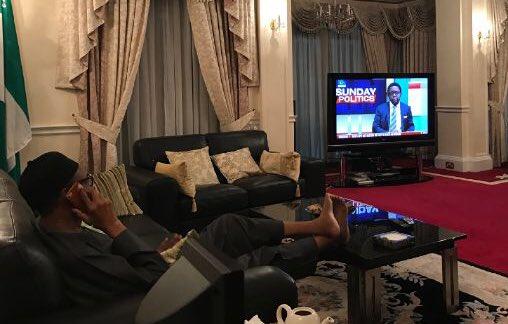 President Buhari (Photo credit: Twitter)