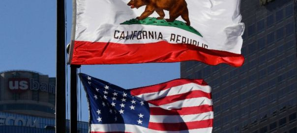"Proponents of ""California Nationhood,"" or Calexit, are pushing for independence on grounds the state is out of step with the rest of the US and could flourish on its own (AFP Photo/Mark RALSTON)"