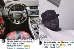 Daniella Okeke's car and beau