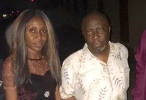 Dapo Olorunyomi and Evelyn Okakwu after release by the Nigerian Police