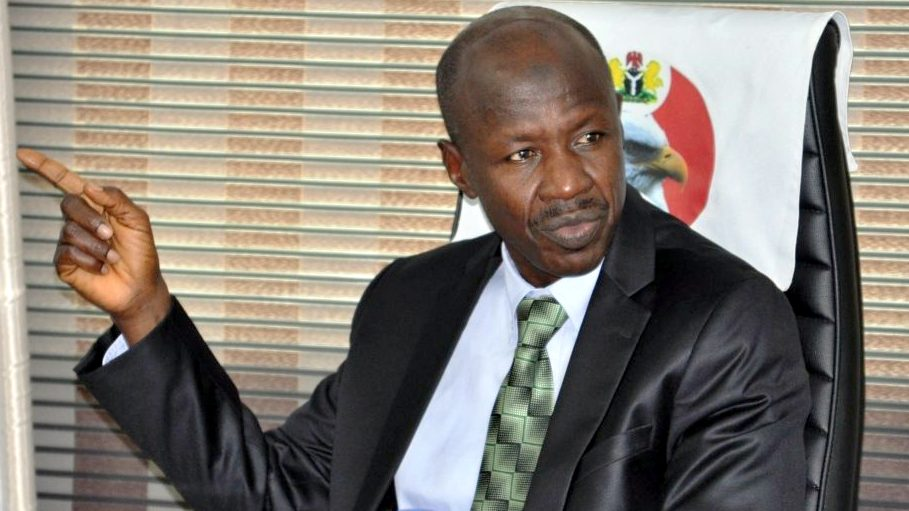 Security agents storm Magu's homes as suspended EFCC boss remains in detention