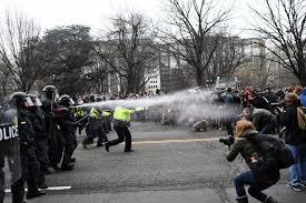 Journalist rioting in washinton DC [Photo Credit] Fox news