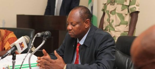 Special Adviser to the President on Niger Delta, Paul Boroh,