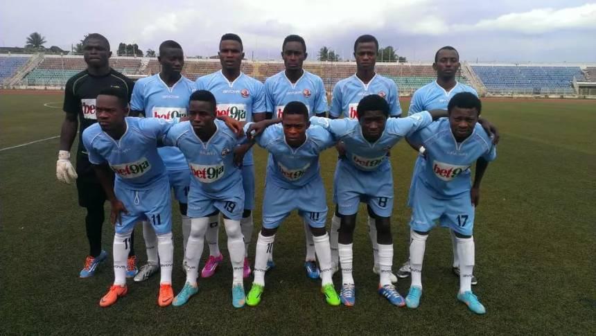 Remo Stars Football Club of Ogun State [Photo credit: sports.naij.com]