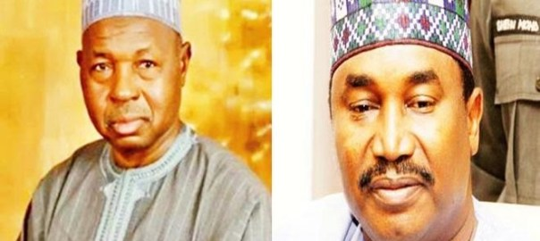 Masari and Shema [Photo credit: Daily Trust]