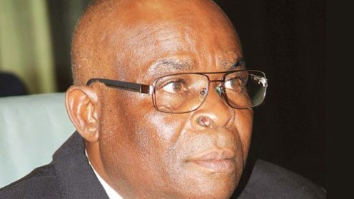 Suspended Chief Justice of Nigeria, Walter Onnoghen