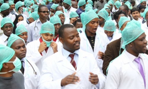 File photo of Resident Doctors