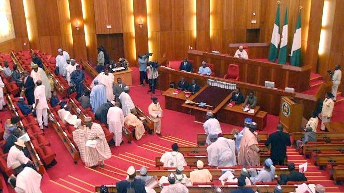 Image result for Senate suspends Security Summit in honour of late Ekwueme