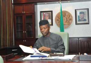 Vice President Yemi Osinbajo[Photo Credit: aitonnline tv]