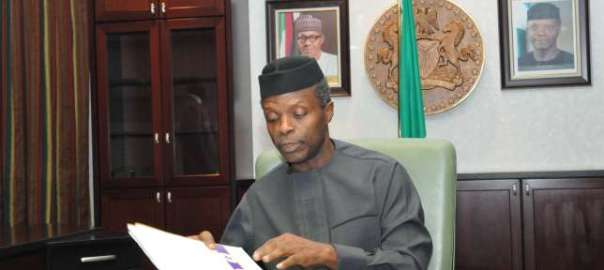 Acting President Yemi Osinbajo[Photo Credit: aitonnline tv]