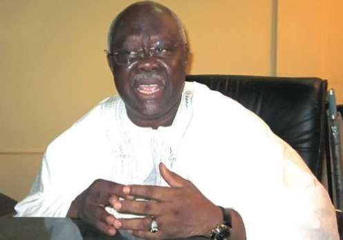 Former Deputy Chairman of the PDP, Bode George