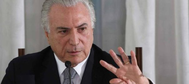 Brazilian President, Michel Temer [Photo credit: YouTube]