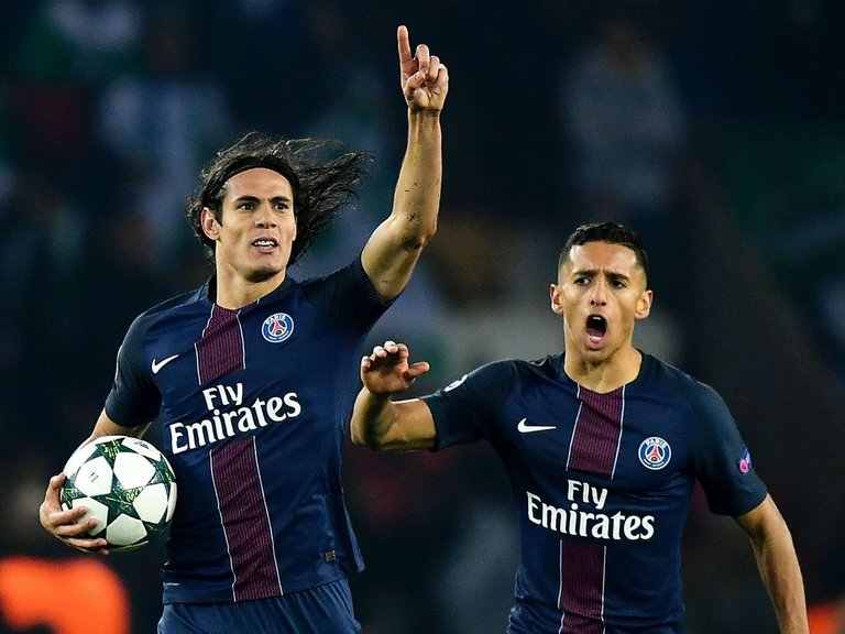 Cavani  Photo: SkySports
