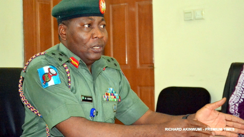 Army Spokesperson, Brigadier-General Sani Usman