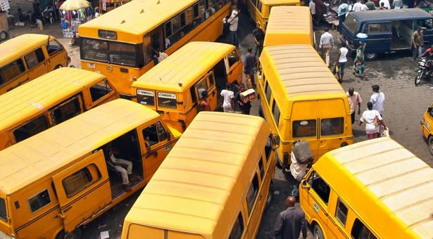 Danfo Buses, Lagos [Photo Credit:Bella Naija]