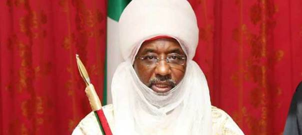 Emir of Kano, Sanusi Lamido [Photo Credit: Channels TV]