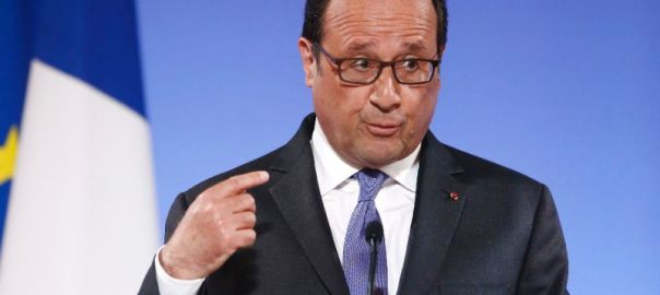 French President, Francois Hollande [Photo credit: Yahoo]