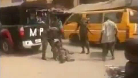 2 soldiers who physically assaulted cripple for wearing camouflage arrested