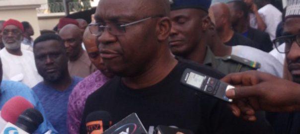 Ekiti State Governor, Ayodele Fayose