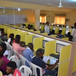 Candidates writing JAMB examination [Photo credit: ElitesplanetBlog]