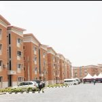 A Lagos Housing Estate with peoperty