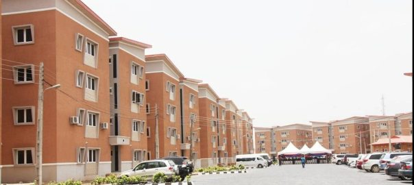 Lagos Housing Estate[Photo Credit: Buzz Nigeria.com