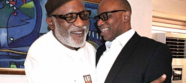 Akeredolu and Mimiko [Photo Credit: The Guardian]