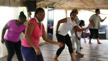 People exercising [Photo credit: Al Jazeera]