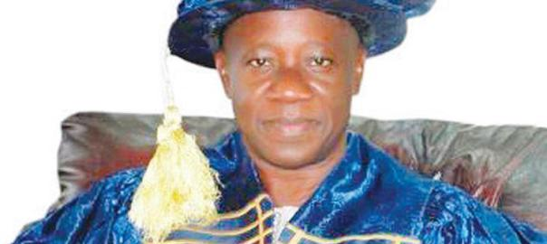 Vice Chancellor of University of Ilorin, Prof. AbdulGaniyu Ambali  [Photo Credit: The Chronicle of Education]