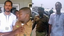 Seun Egbegbe pictured at the Federal High Court in Lagos today