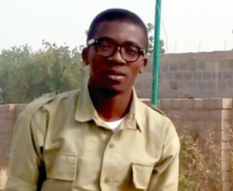 Sorunke Lukman missing NYSC member graduate of University of Ilorin