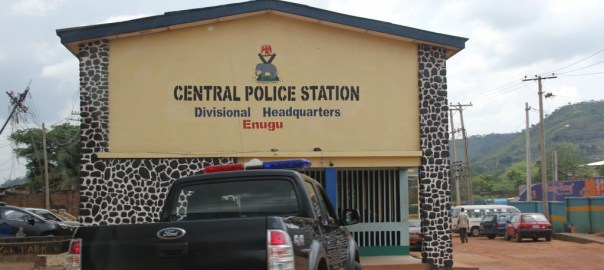 The Central Police Station, Enugu used to illustrate the story