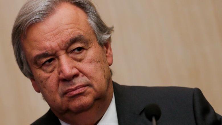 UN chief, Guterres [Photo credit: Reuters]